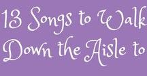 Great Wedding Music Choices / Great ideas for music for your wedding day