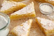 Recipes - bars, brownies and blondies