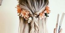 Fryzury ślubne, Inspiracje / Hairstyles wedding Inspiration / ślub, wesele, weselnapolska, fryzury, fryzura, inspiracja, włosy, dodatki.