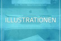 Illustrationen / Handgefertigte Illustrationen der WEBMARKETIERE GmbH