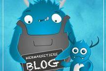 WEBMARKETIERE-Blog / Hier findet ihr alle unsere Blogposts zu den Themen Online Marketing, Social Media, Corporate Design und SEO.