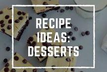 Recipe Ideas: Desserts