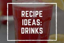 Recipe Ideas: Drinks