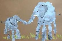 Tlapičky (hand-footprints art)
