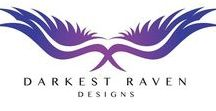 Darkest Raven Designs / Darkest Raven Designs is helmed by the talented Western Australian artist Chantal Wilson. Chantal is a self taught artist specialising hand drawn sketches, water colour, pastels, geometric design and theatre props.