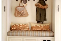 HOME // hallways, cubbies, etc. / decorate it up! / by Beth Goad