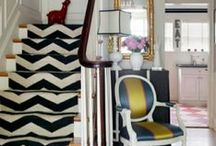 Chevron  / Stripe it! Ideas for making all things Chevron.  / by crafty texas girl