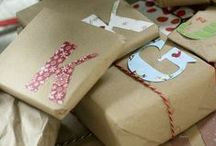 GIFTS / to give or make / by Beth Goad