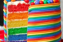 Rainbows / Look for the rainbow-- tons of ideas for rainbow parties and fun.  / by crafty texas girl