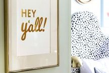 Home Decor / My favorite ideas for home decor. Modern meets traditional. Neutrals and bold colors. Texture, light, and all things beautiful.