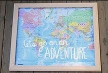 Adventures / Places I'd like to go + maps