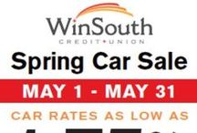 Events & Announcements / Need to know info about WinSouth CU including events, announcements, contests, and loan promotions. / by WinSouth Credit Union