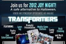 2012 Joy Night / by Redeeming Word Christian Center International - RWCCI