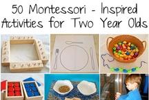 Education- Montessori ideas