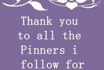 Messages To My Fellow Pinners:-) / by Myra Coshow