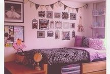 Dorm Ideas / We know dorm life can be challenging. That's why we're bringing you these super fun and easy tips and ideas from across Pinterest!  More dorm tips&tricks can be found here:  http://www.collegexpress.com/articles-and-advice/student-life/articles/living-campus/dorm-sweet-dorm/