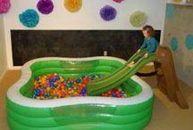 Playroom & Upstairs Living room / by Mandi Robbins