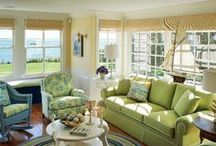 Decor- Blue and Green