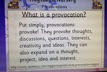 Reggio- Provocations