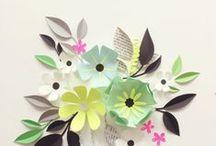 Paper Pleasure / Visit ArtisticMoods.com for more illustrative delight.