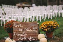 Wedding for fall / by Rachelizabeth