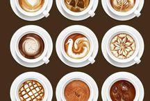 Artistic Coffee / The beautiful coffee