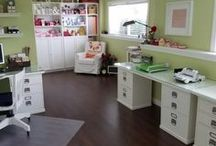 Creative Spaces / Organized & inspiring spaces for your sewing, scrapbooking, and other craft projects
