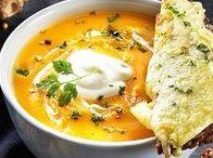 Suppen: schnell und einfach, Partysuppen, vegetarisch und vegan / Auf dem Board findet ihr viele Rezepte für vegane und vegetarische Suppen. Egal ob als schnelles, low carb Abendessen oder als Partysuppe.