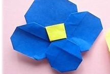 Origami flowers <@><@><@>