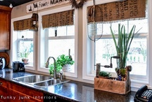 Home on the range / Decor ideas for our cozy home. / by Marie-France Lamothe