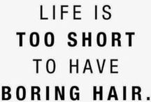 Hair Pins / Clever sayings. Words to live by. #mondayfunny #sayings #salonhumor