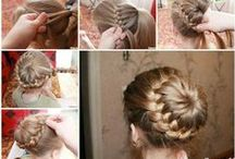Hairdo How-to / Need a little help with that perfect hairdo? You've come to the right place! #how-to hair styling with #step-by-step #instructions #infographic #tutorial #DIY