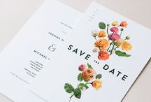 Stationery Design / Wedding invitation design ideas and inspiration for design and printing techniques / by Stephanie Janke