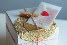 Gift Wrapping {LOVE}