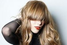 Bangs / From sideswept to blunt, wispy to curved, here you will find the bangs for you!