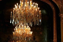 Chandeliers and Lamps / by Cindy Clark