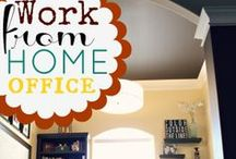 Office space / Ideas to help me create the ultimate home office. / by Marie-France Lamothe