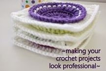 Crochet - techniques and tutorials / by Wenona Rigali