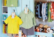 Kids' Rooms / Cute ideas to organize and decorate kids' bedrooms.