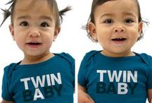 Terrific Twins & Magnificent Multiples / Good things come in twos, threes, and sometimes more! Fun tips and resources for parents of twins, triplets, and multiples. / by Diono USA