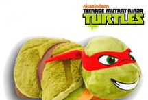Teenage Mutant Ninja Turtle Pillow Pets. / Whether it's Disney, Warner Brothers, Teenage Mutant Ninja Turtles or Monsters Inc characters, there is a Pillow Pet companion to snuggle up to!  We even have Football characters for Tottenham, Man Utd, Liverpool, Aresnal and Chelsea! And One Direction items to buy!  Have a look-see.