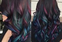 "Haircolor Wow! / Are you feeling bold? Next time your at the salon try something that will make us say ""haircolor, WOW!"""