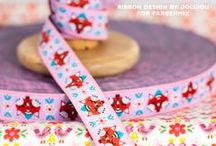 Jolijou Ribbons / Jolijou Ribbons - available through www.farbenmix.de