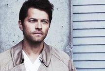 // SPN // Misha Collins / Castiel / I might be a little obsessed.