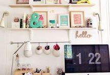 Workspace love / Home office goals   Workspaces   Desks   Organization   Storage   etc