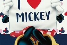 * Mickey & Minnie Mouse *