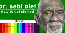 Dr Sebi / Dr. Sebi was a natural healer and leader. He stressed the importance of maintaining an alkaline-rich diet.