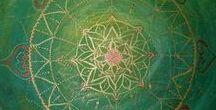 Leinwandmalerei / Mandala