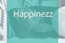 Happinezz / Vind inspiratie voor een bewust leven, leven voor en vanuit jezelf. Positief, geluk, life-work balance.  Hoe ontdek je het geluk terug in je leven? Word gelukkig, leef bewust, vind balans.  Zonder stress.
