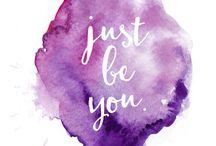 T Y P O G R A P H Y / Pretty little quotes ✨